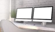 Dual Monitor Office Productivity