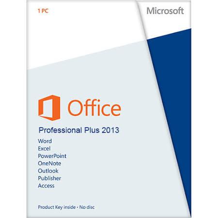 Microsoft Office 2013 Professional Plus PKC