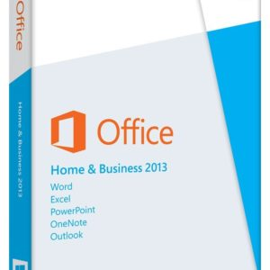 Office 2013 Home and Business Key Card