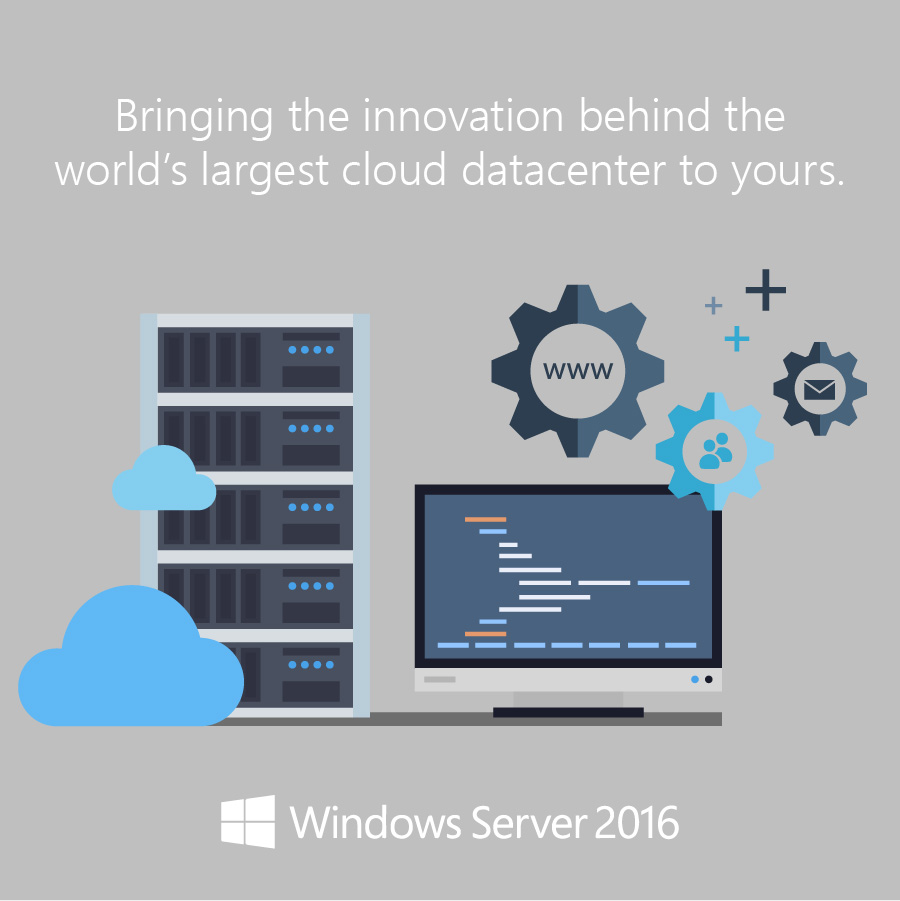 innovation with windows server 2016