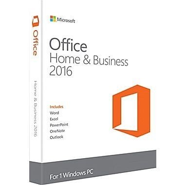 Microsoft Office 2016 Home and Business - T5D-02375